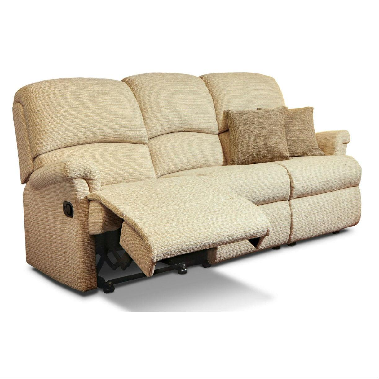 Peachy Sherborne Nevada Reclining 3 Seater Sofa Fabric From Ocoug Best Dining Table And Chair Ideas Images Ocougorg