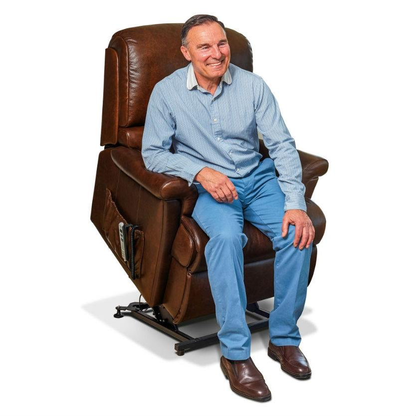 Sherborne Nevada Electric Lift & Rise Care Recliner (leather