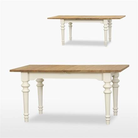 Coelo Small Extending Siena Dining Table with 1 Extension Leaf