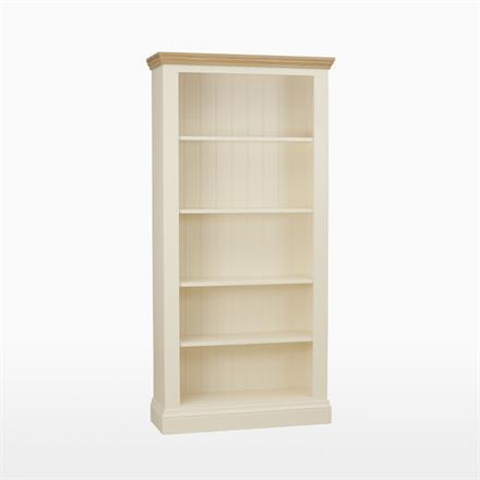 Coelo Tall Wide 4 Shelf Bookcase