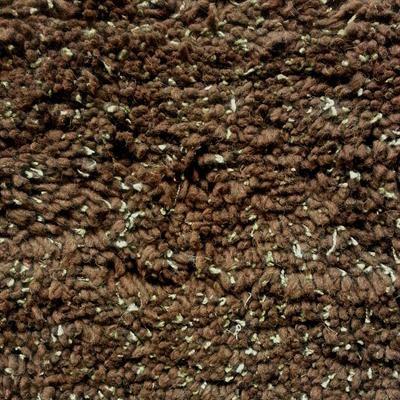Dark Chocolate Visco Shaggy Rug (244 x 150cm)