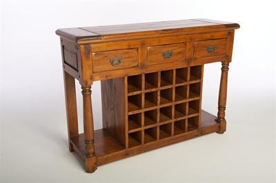 East Indies Wine Rack/Buffet