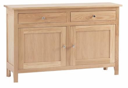 Nimbus Compact 2 Drawer 2 Door Sideboard