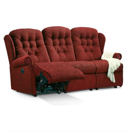 Sherborne Lynton Reclining 3 Seater Sofa (fabric)