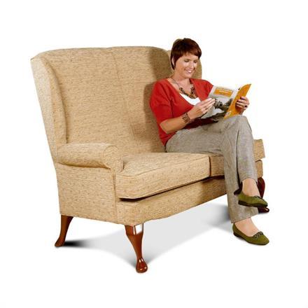Buckingham 2 Seater Sofa (fabric)