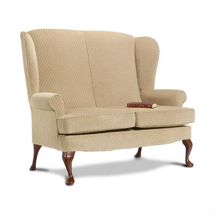 Sherborne Buckingham High Seat 2 Seater Sofa (fabric)