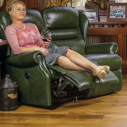 Ashford Reclining 2 Seater Sofa (leather)