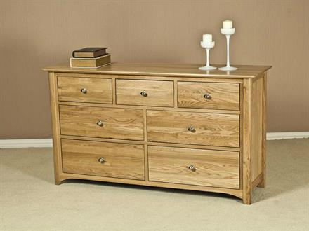 Casa Oak 3 Over 4 Chest