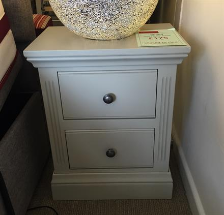 TCH Rimini Small 2 Drawer Bedside Chest