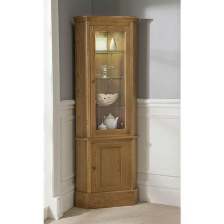 CARMEL Corner Display Cabinet