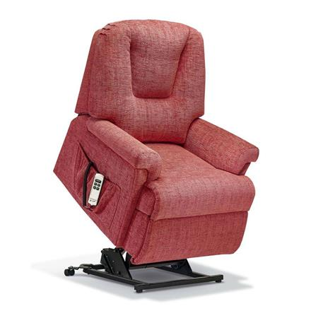 Milburn Electric Lift and Rise Care Recliner (fabric)
