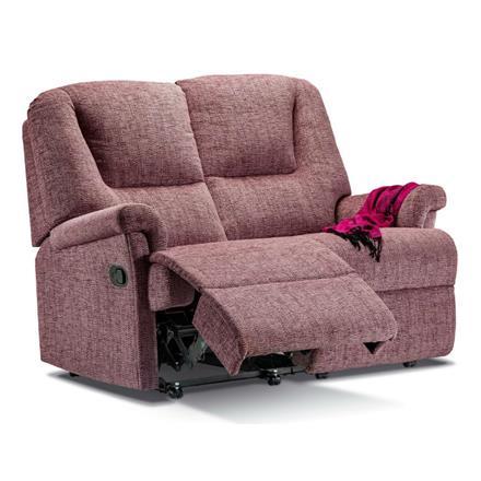 Milburn Reclining 2 Seater Sofa (fabric)