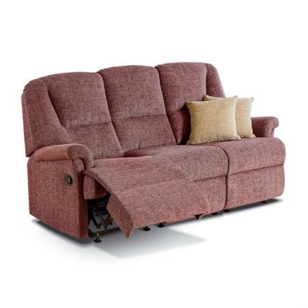 Milburn Reclining 3 Seater Sofa (fabric)