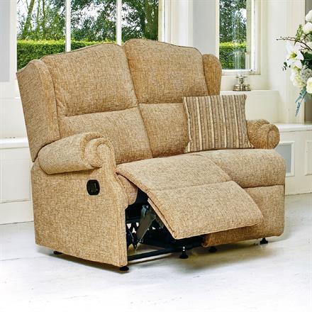 Sherborne Claremont Reclining 2 Seater Sofa (fabric)