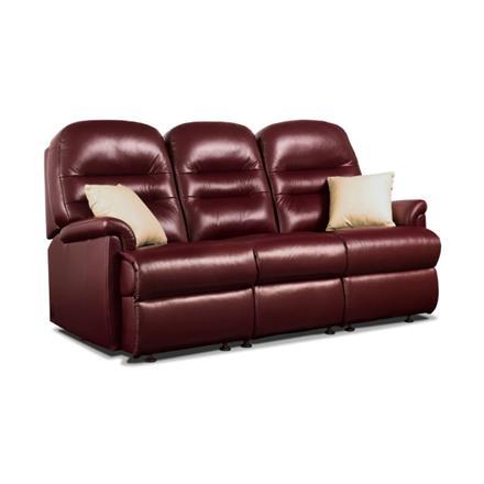 Sherborne Keswick Fixed 3 Seater Sofa (leather)
