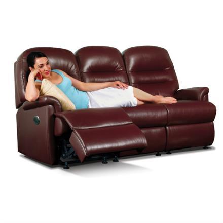 Sherborne Keswick Reclining 3 Seater Sofa (leather)