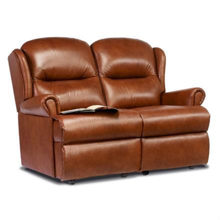 Malvern Fixed 2 Seater Sofa (leather)