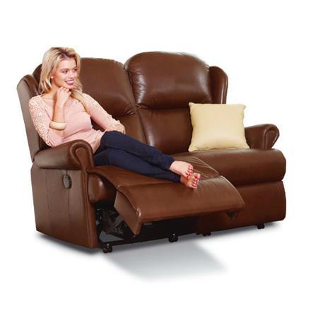 Malvern Reclining 2 Seater Sofa (leather)