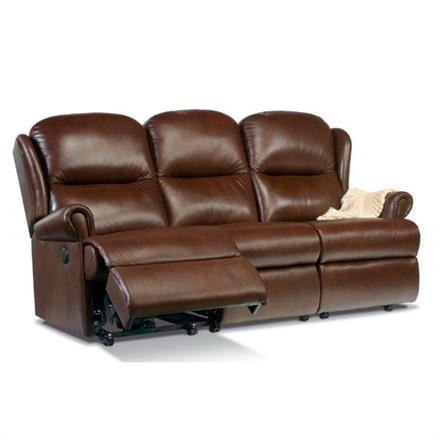 Malvern Reclining 3 Seater Sofa (leather)