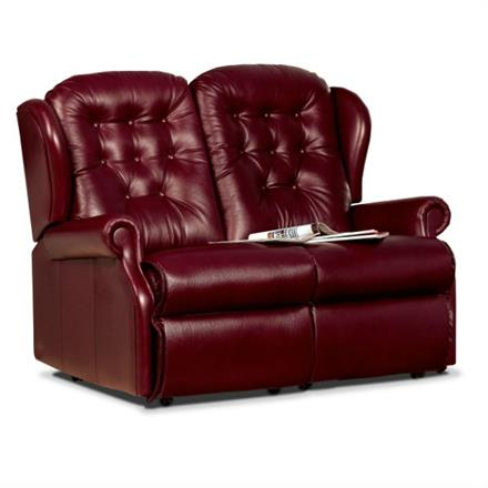 Lynton Fixed 2 Seater Sofa (leather)