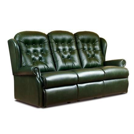 Sherborne Lynton Fixed 3 Seater Sofa (leather)