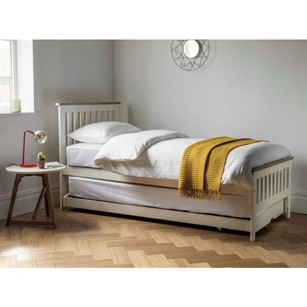 Worcester Guest Bed (in painted ivory)