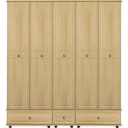 Deco 5 Door / 3 Drawer Tall Wardrobe
