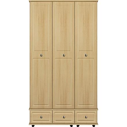 Deco 3 Door / 3 Drawer Tall Wardrobe