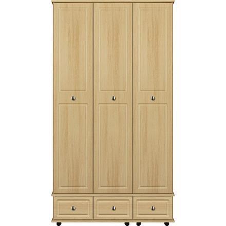 Deco 3 Door / 3 Drawer Tall Wardrobe