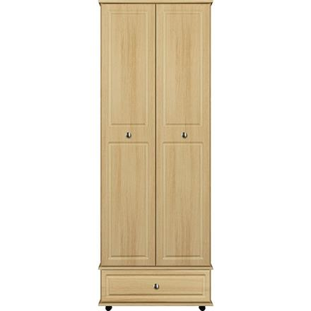 Deco 2 Door / 1 Drawer Tall Wardrobe