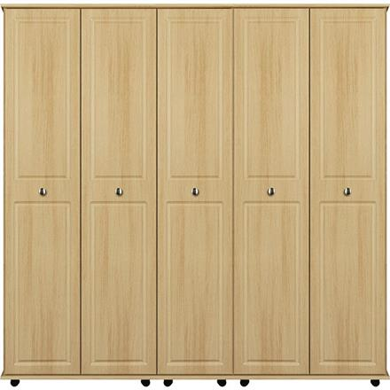 Deco 5 Door Wardrobe