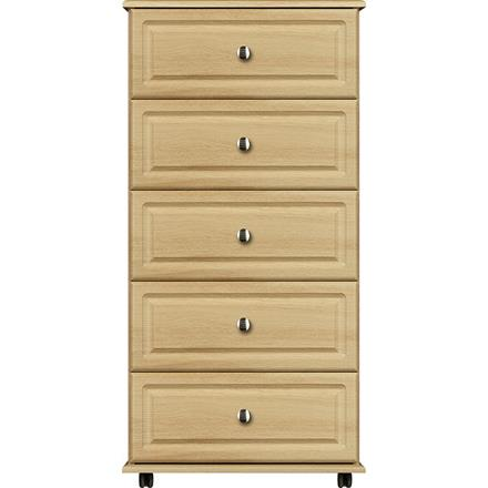 Deco 5 Drawer Midi Chest
