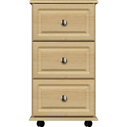 Deco 3 Drawer Narrow Chest