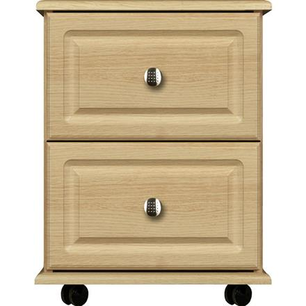 Deco 2 Drawer Narrow Chest