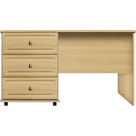 Deco 3 Drawer Wide Single Dressing Table