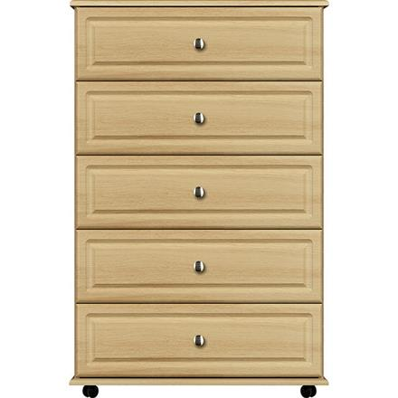Vogue 5 Drawer Wide Chest