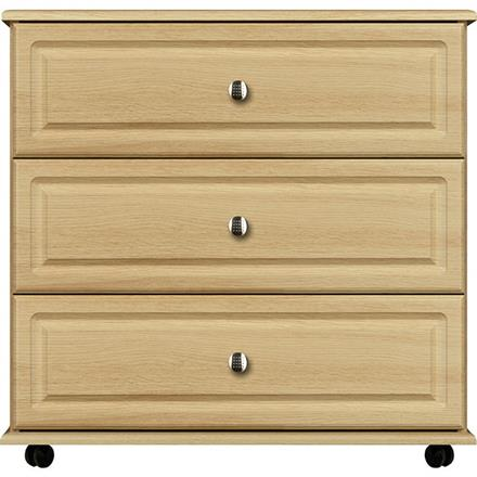 Vogue 3 Drawer Wide Chest