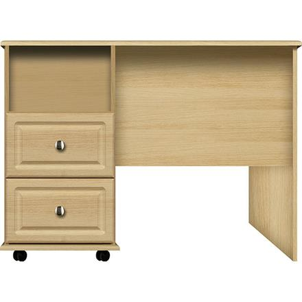 Vogue 2 Drawer/ Open Section Single Desk