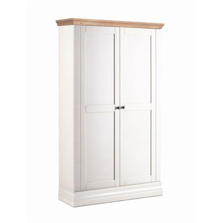 Annecy Oak Top Narrow Wardrobe