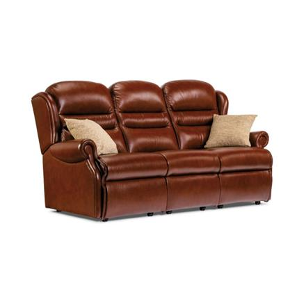 Ashford Fixed 3 Seater Sofa (leather)