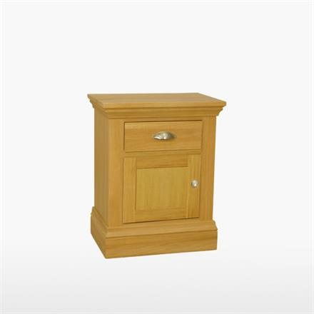 Reims Small 1 Door/ Drawer Bedside (LH Hinged)