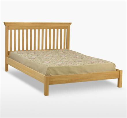 Reims Slat Bed with Low Foot End