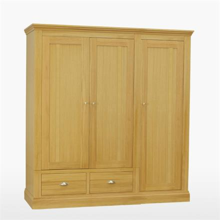 Reims Triple Wardrobe with 2 Drawers