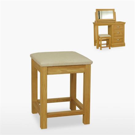 Reims Bedroom Stool (fabric seat)