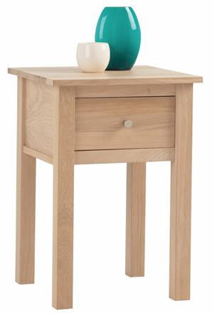 Nimbus Lamp Table with Drawer