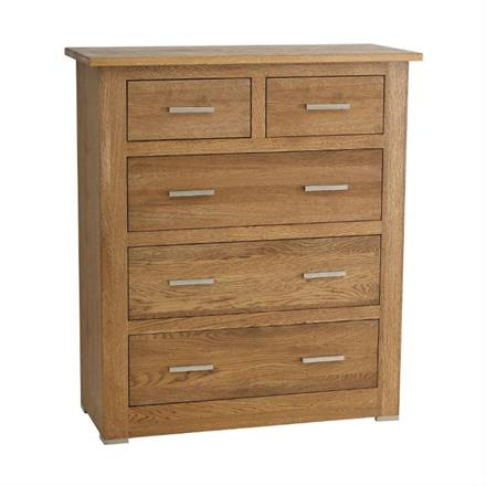 Quercia 3+2 Chest of Drawers