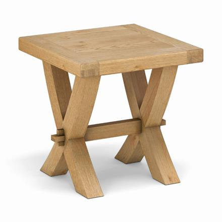 Fairford Crossed Lamp Table