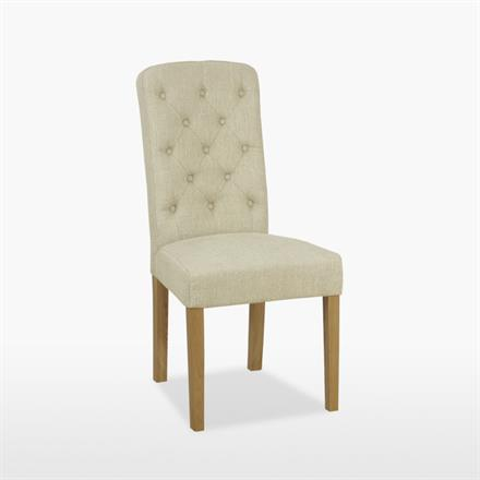Lamont Button Chair in Fabric