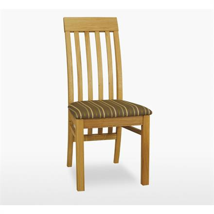 Reims Savona Slat Chair with Leather Seat