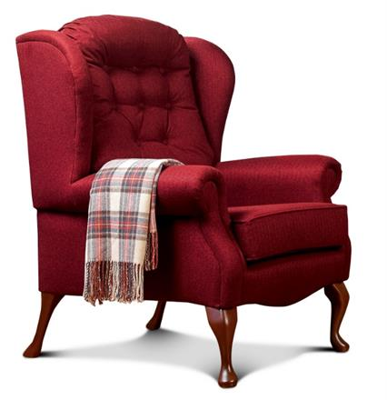Lynton Fireside High Seat Chair (fabric)